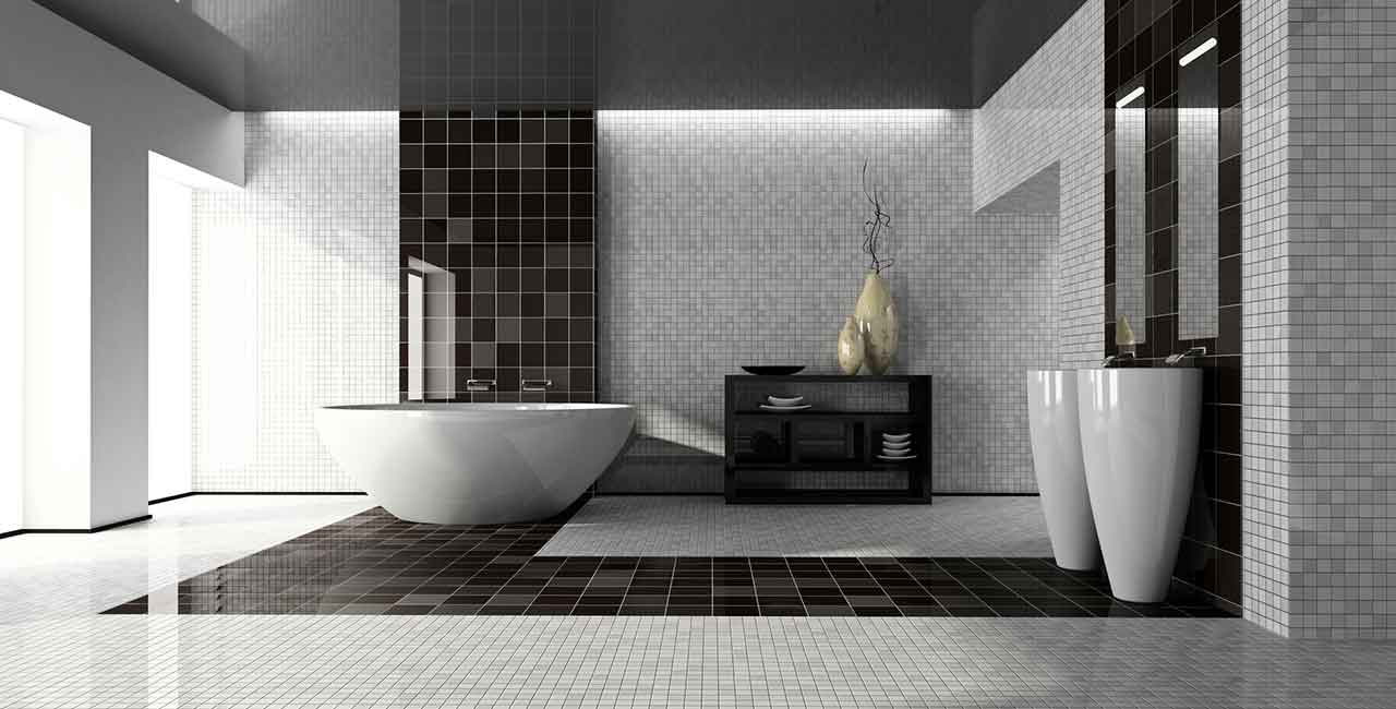 Bathroom-CT-black-white-tiles