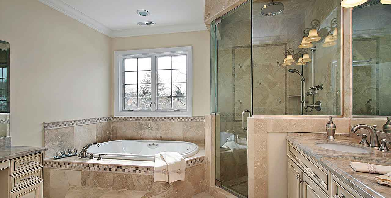 Bathroom-renovation-tan-marble